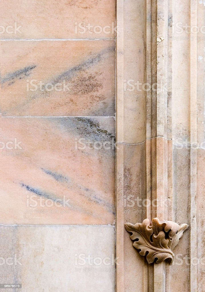 Marble leaf royalty-free stock photo