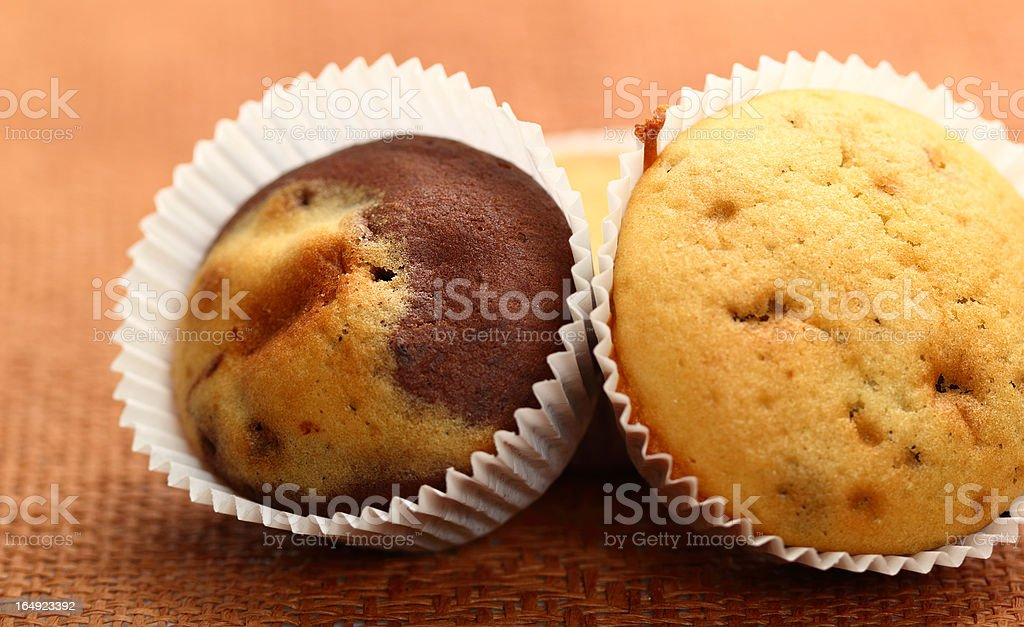 Marble Muffins royalty-free stock photo