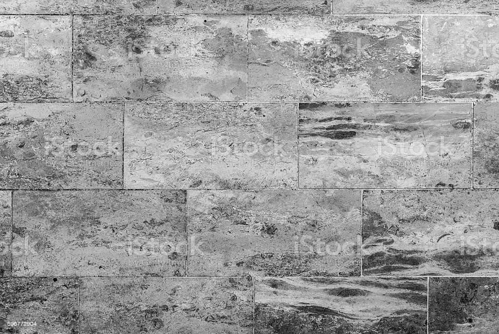 Marble or granite floor slabs for outside pavement flooring. stock photo