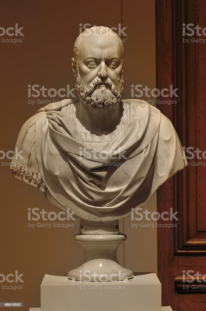Marble sculpture royalty-free stock photo