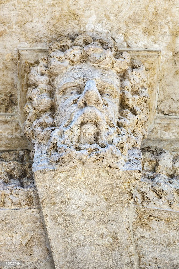 Marble Sculture royalty-free stock photo