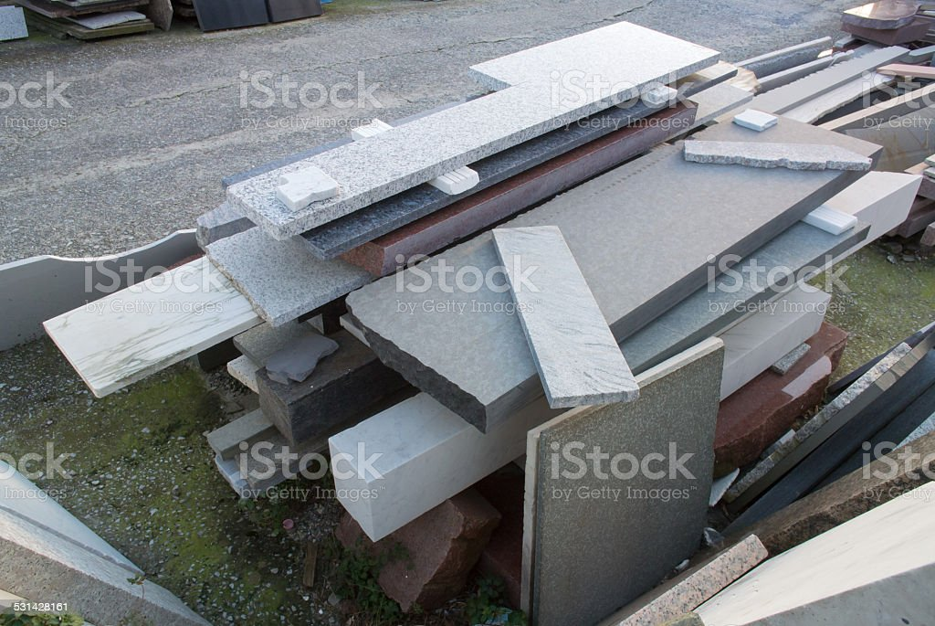 marble slabs royalty-free stock photo