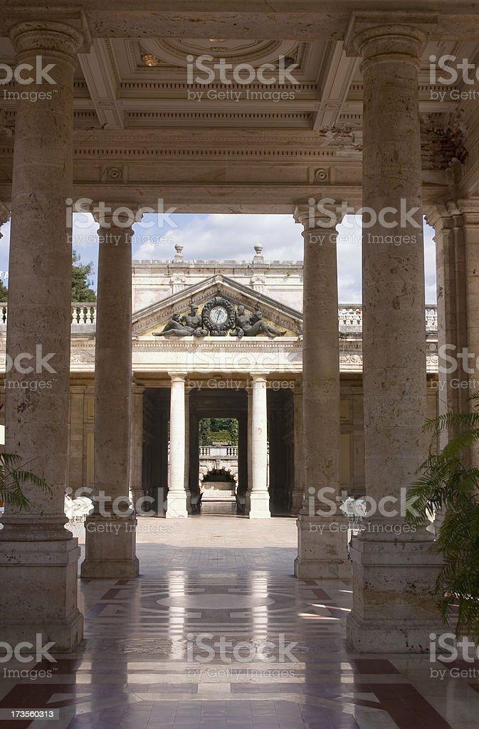 Marble Spa at Montecatini Terme stock photo