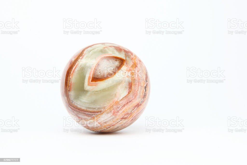 Marble Sphere stock photo