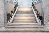 marble stairs indoors