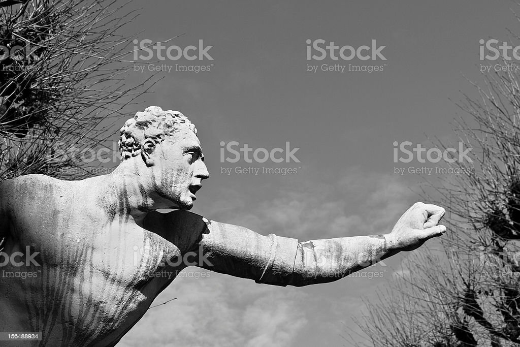 Marble Statue royalty-free stock photo