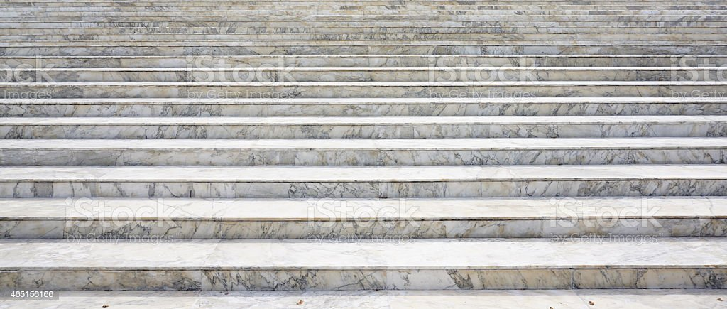 Marble stone stair stock photo