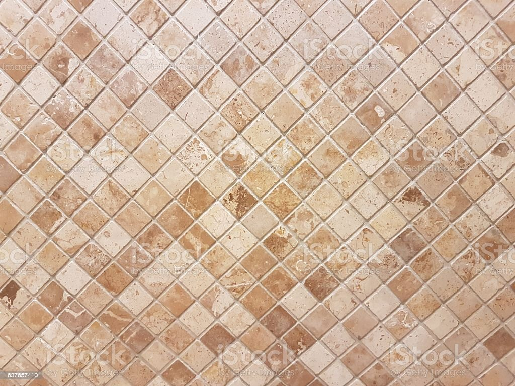 marble tiled wall stock photo