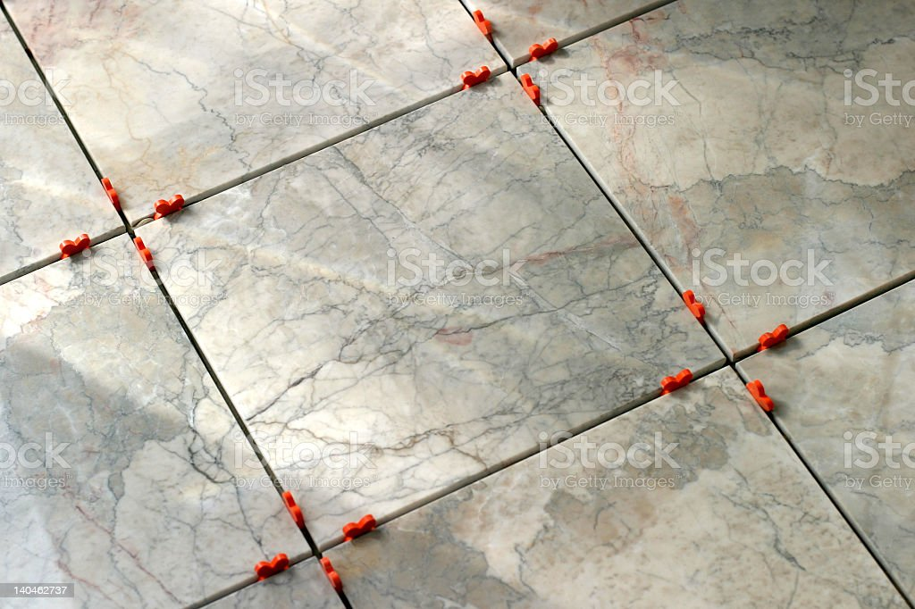 Marble Tiles with Pegs royalty-free stock photo