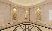 marble Turkish Hamam bath modern design