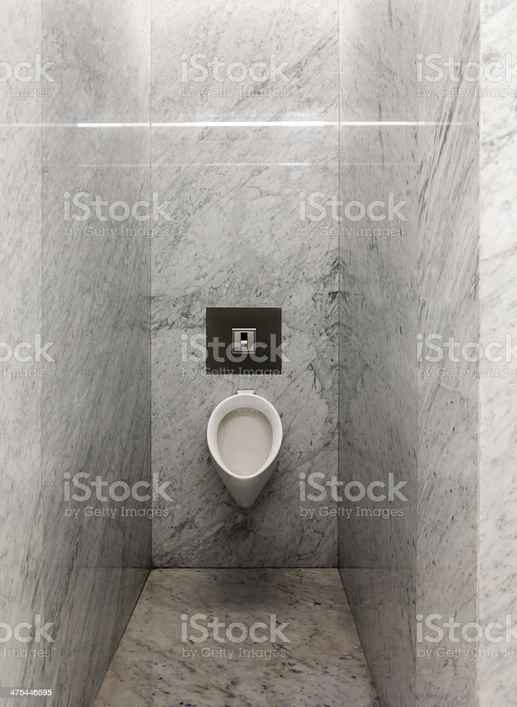 Marble Urinal stock photo
