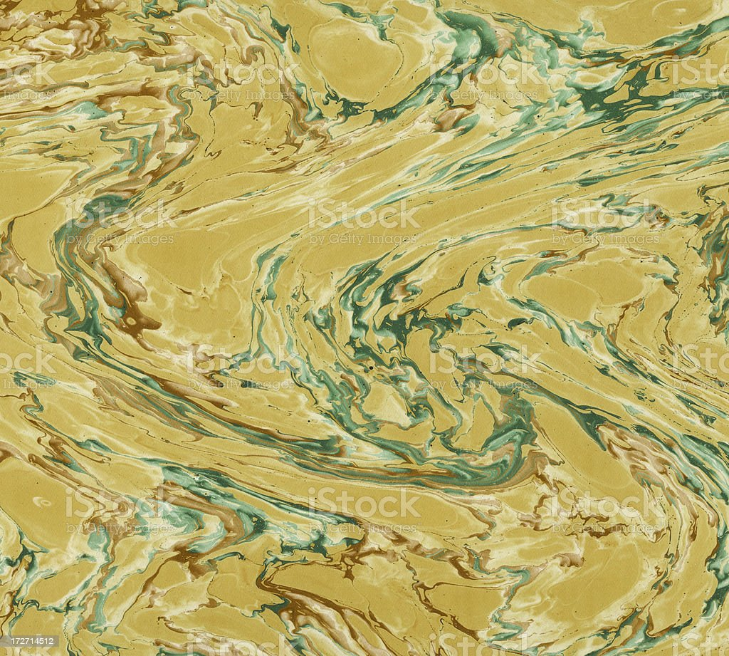 marbled handmade paper royalty-free stock photo
