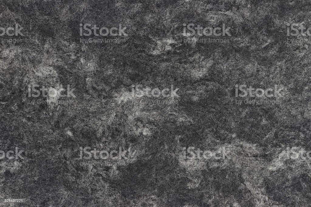 Marmoriertes Papier Textur, schwarz und weiß mit Holz-Fasern – Foto