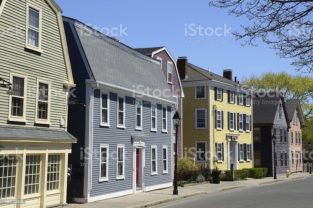 Marblehead in Massachusetts stock photo