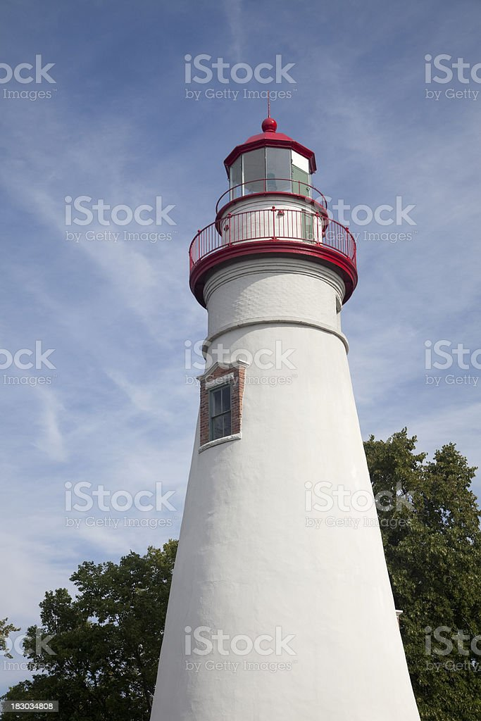 Marblehead Lighthouse royalty-free stock photo