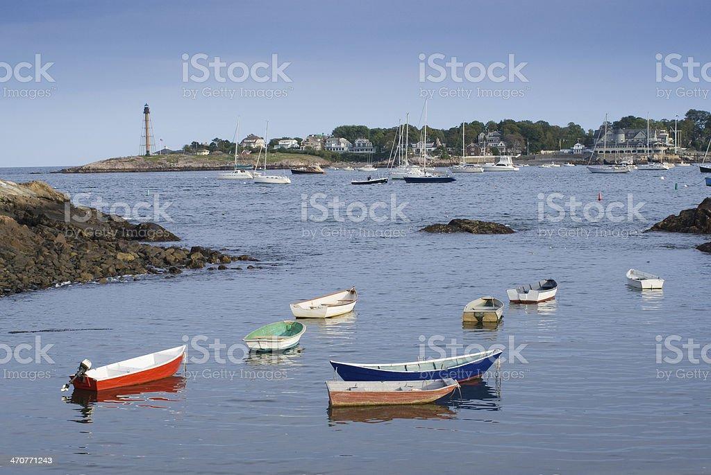 Marblehead Massachusetts stock photo