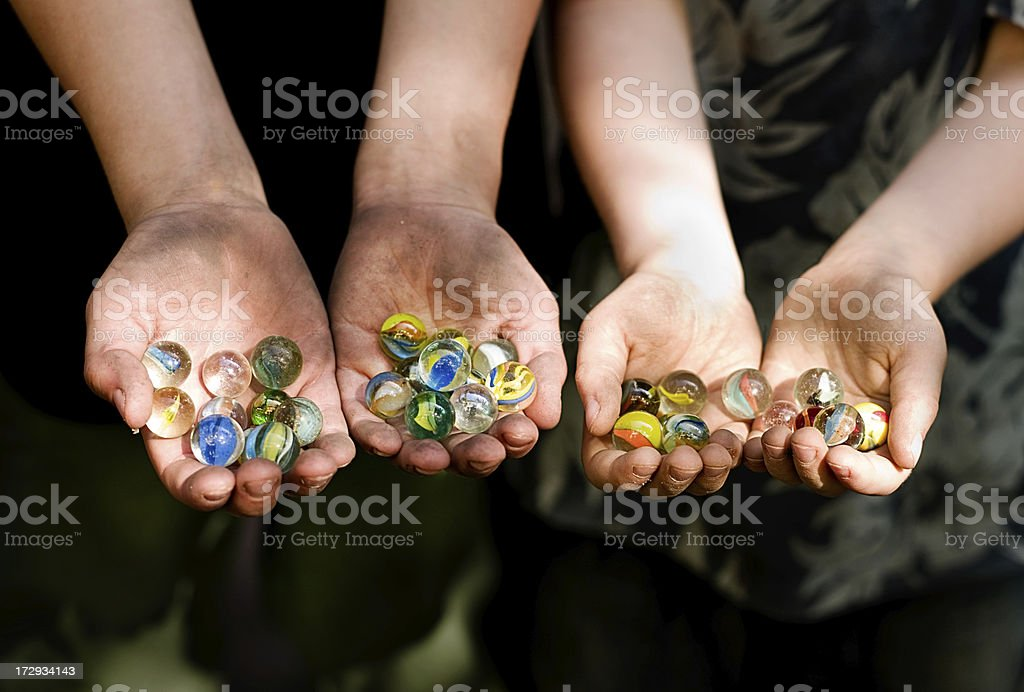marbles III royalty-free stock photo
