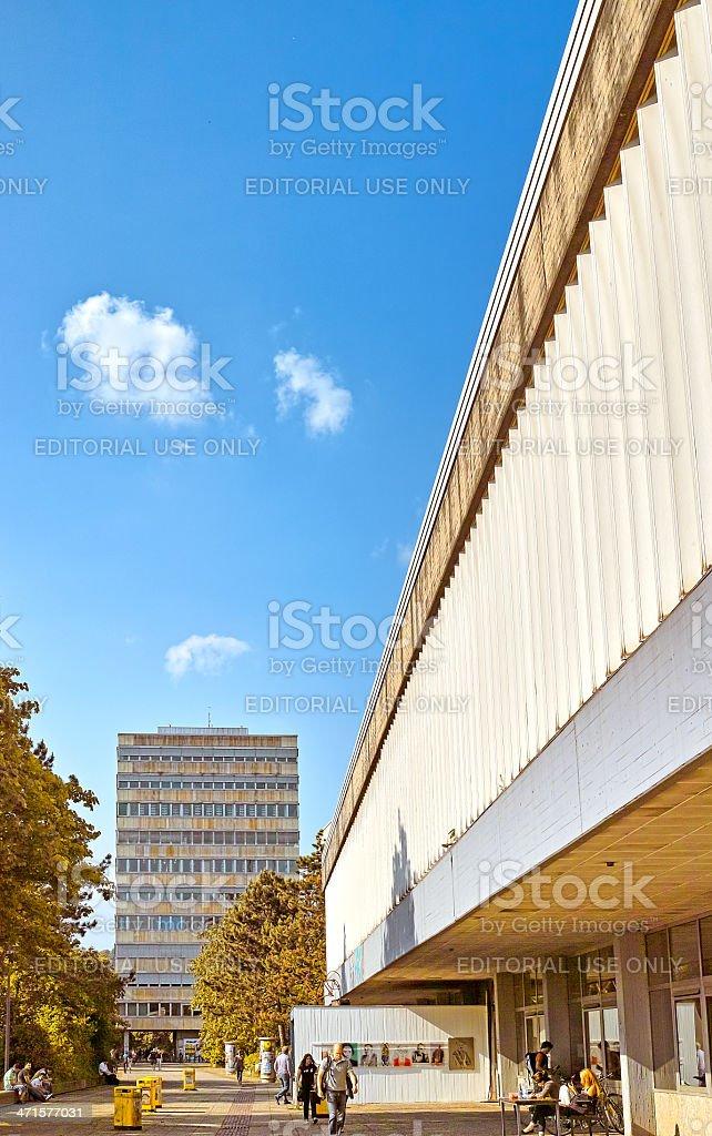 マールブルク大学図書館 ロイヤリティフリーストックフォト