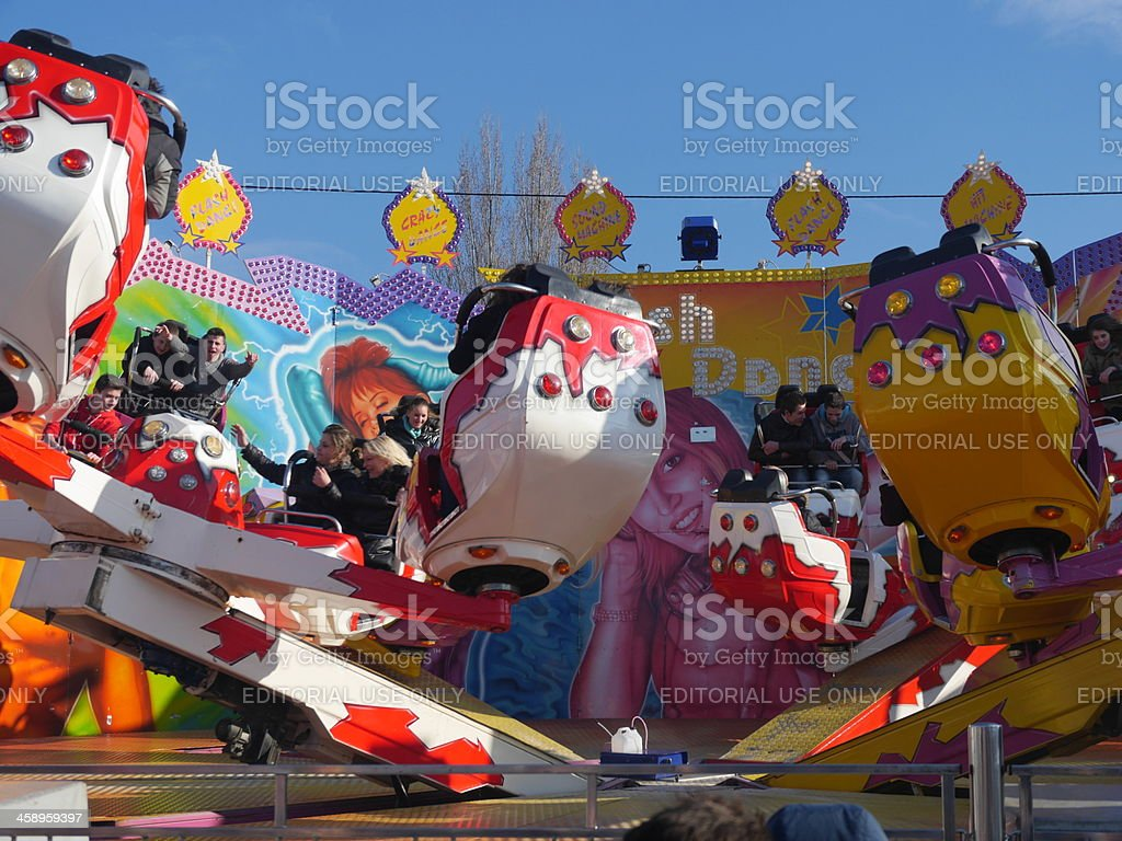 March Fair of Troyes 2013 stock photo