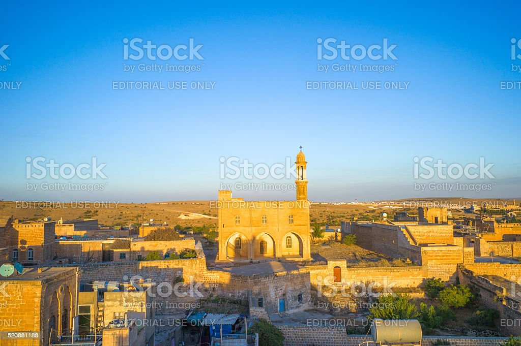 march gabriel monastery b at midyat mardin turkey stock photo