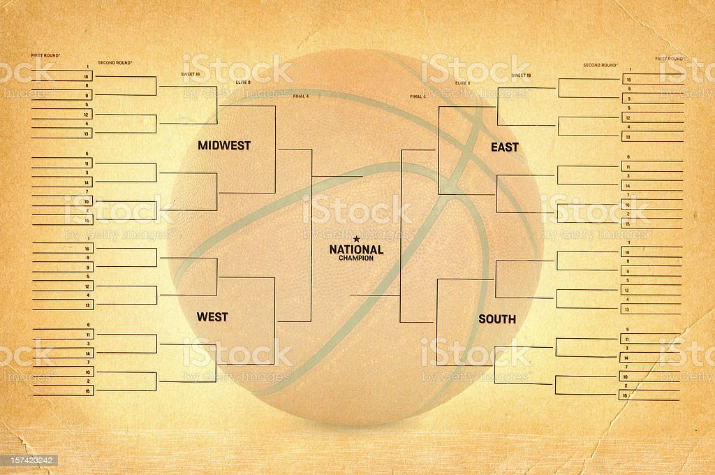 March Madness royalty-free stock photo