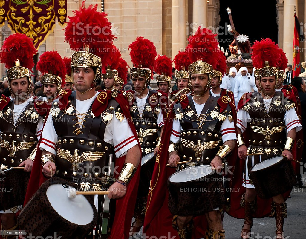 March of the Empire stock photo