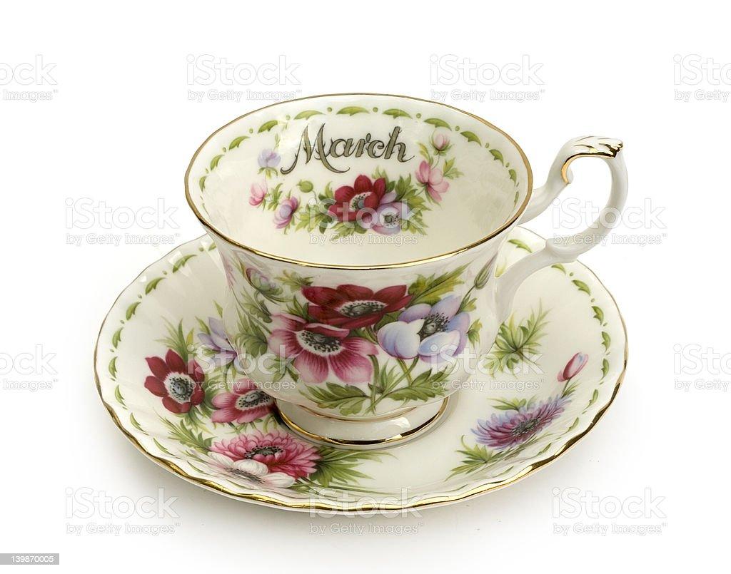 March Tea royalty-free stock photo