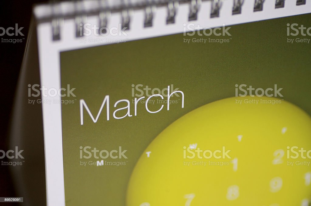 March Up Close... royalty-free stock photo
