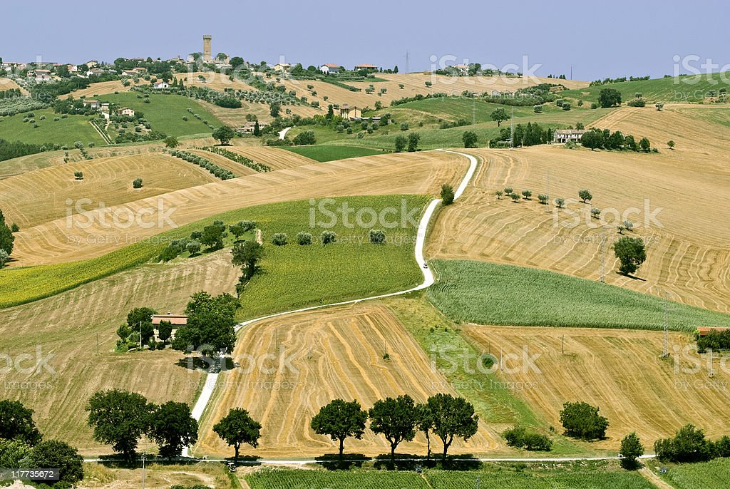 Marche - Landscape royalty-free stock photo