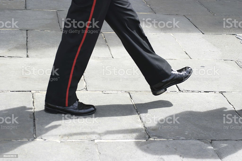 Marching stock photo