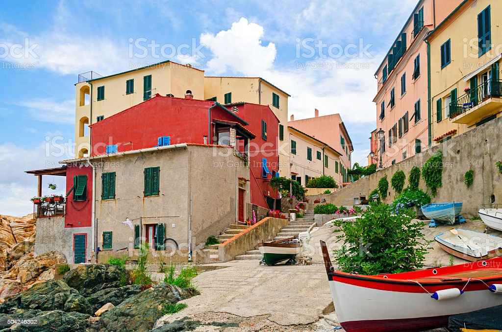 Marciana Marina (Isola d'Elba Italy) stock photo