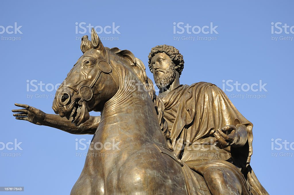 Marco Aurelio royalty-free stock photo