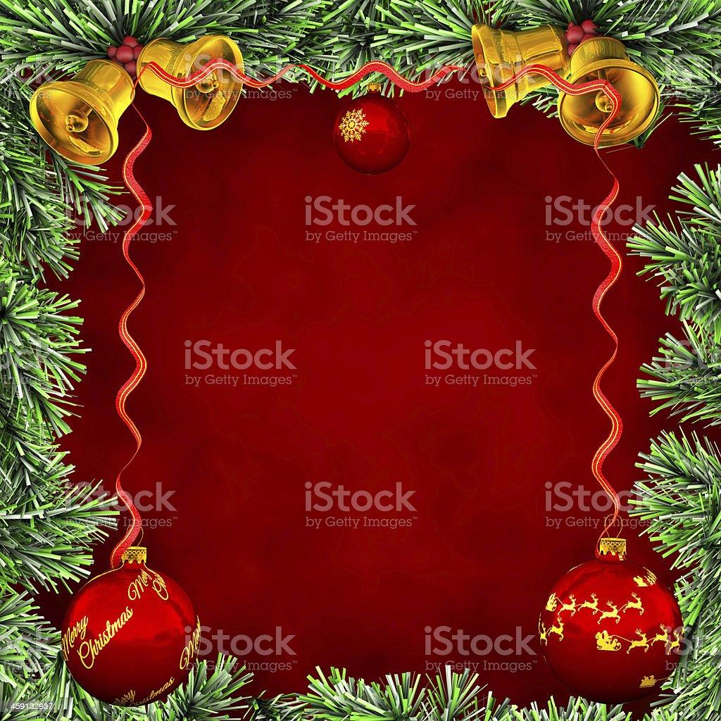 Marco Christmas card stock photo
