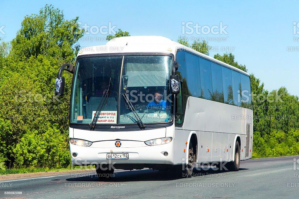 Marcopolo Andare 850 stock photo
