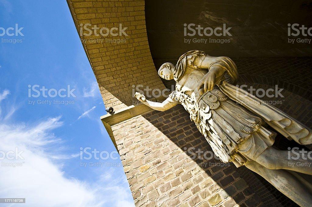 Marcus Ulpius Trajanus stock photo