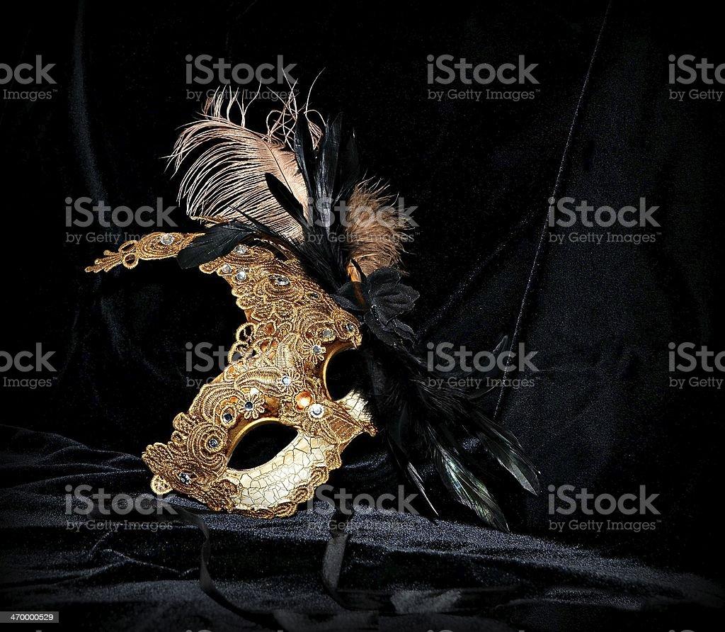 Mardi Gras Carnival Mask stock photo