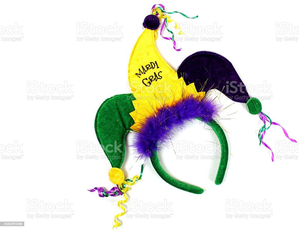 Mardi Gras Hat stock photo