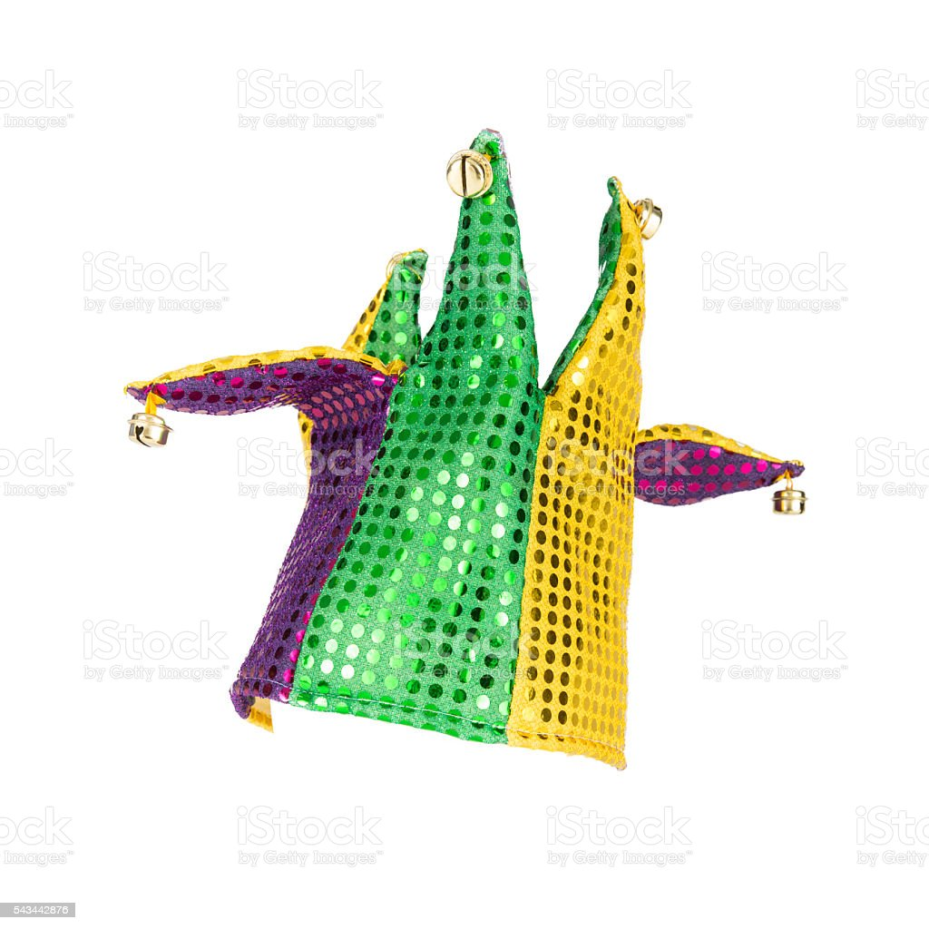 Mardi Gras Jester Hat stock photo