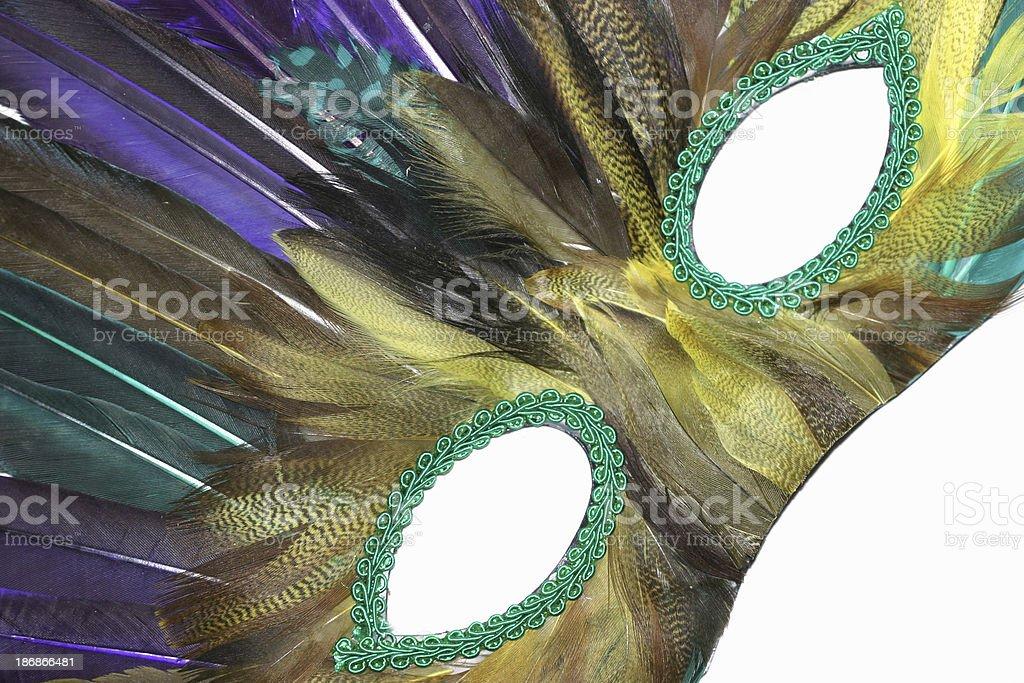 mardi gras mask 1 royalty-free stock photo