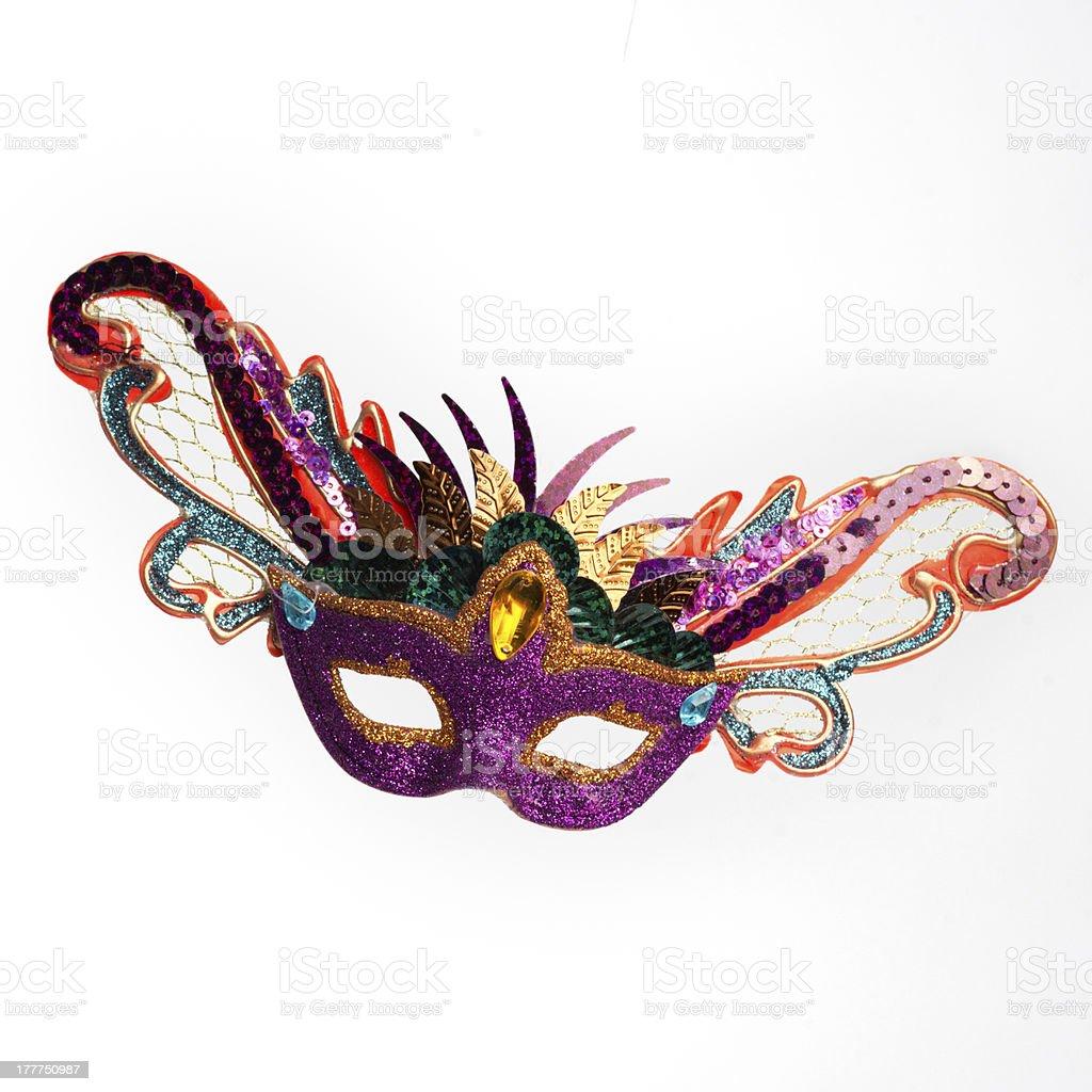 Mardi Gras Mask stock photo