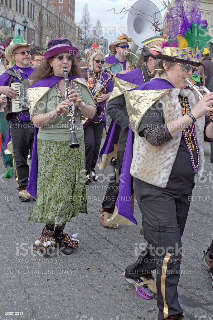 Mardi Gras Music stock photo
