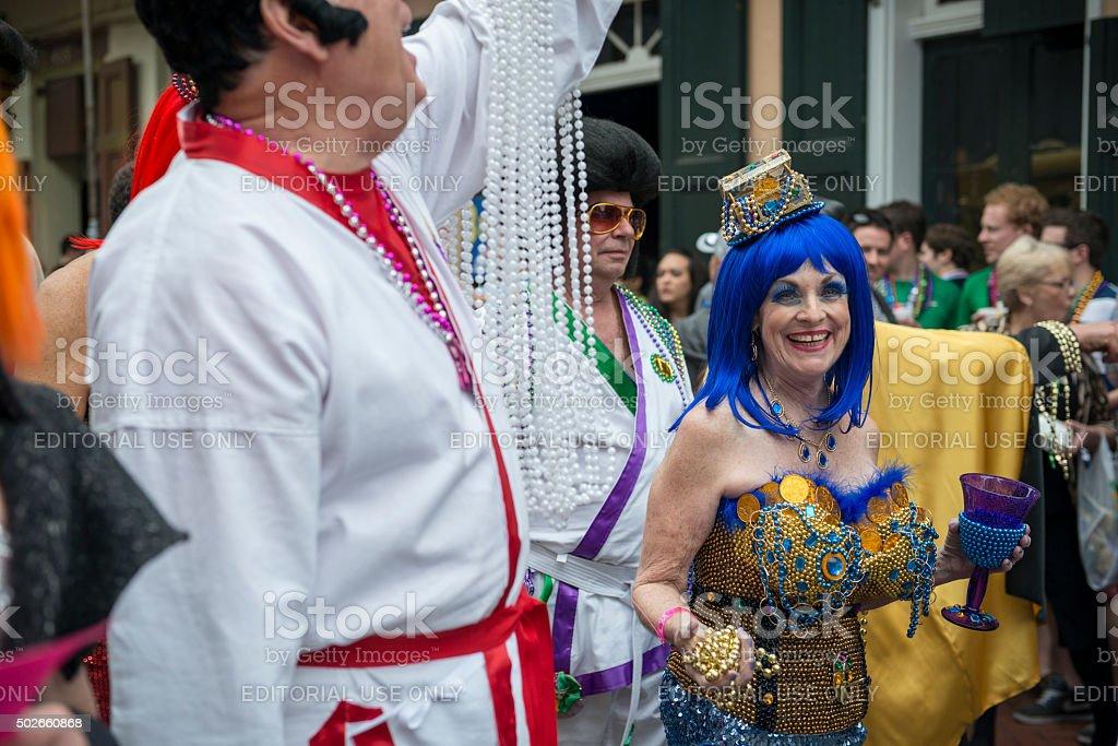 Mardi Gras - New Orleans stock photo
