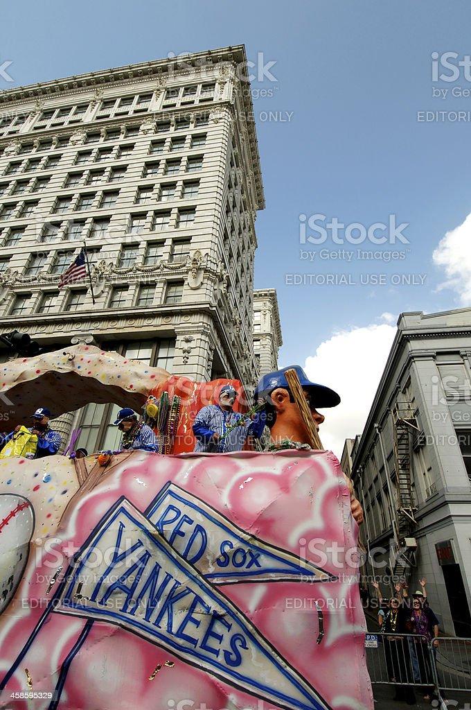 Mardi Gras Parade royalty-free stock photo