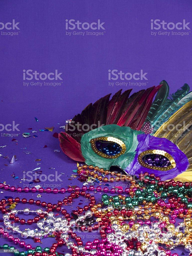 Mardi Gras Party Time stock photo