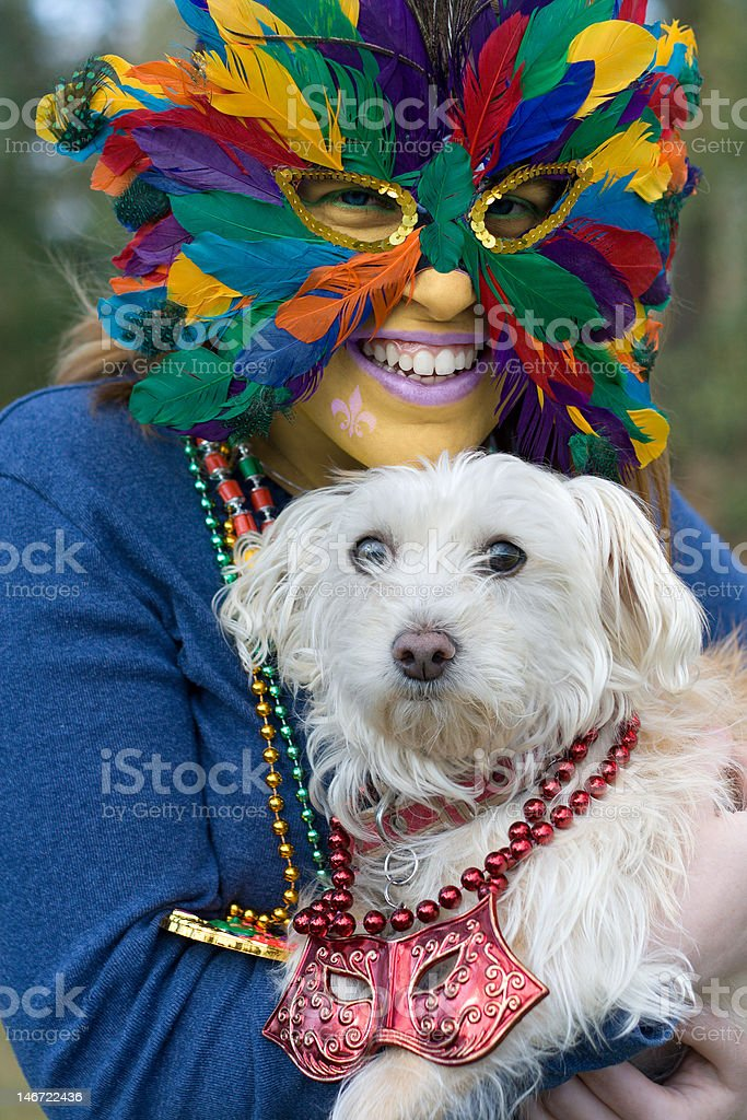 Mardi Gras royalty-free stock photo