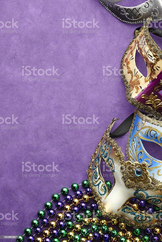 Mardi Gras royalty-free stock photo