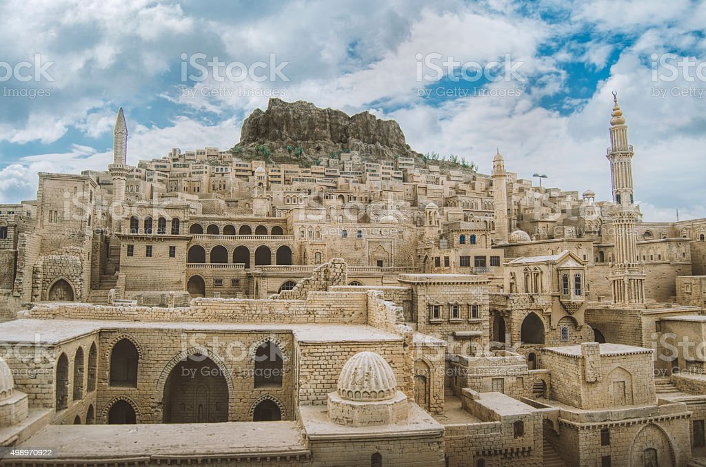 Mardin City,Turkey stock photo