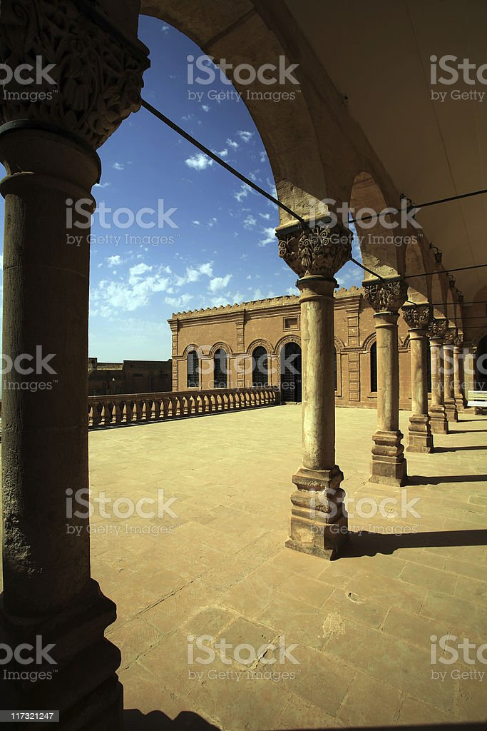 Mardin Museum-Turkey royalty-free stock photo