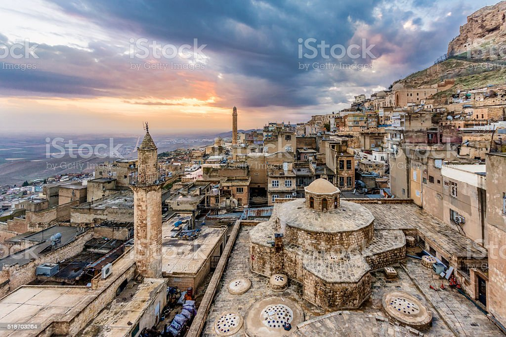 Mardin, Turkey stock photo