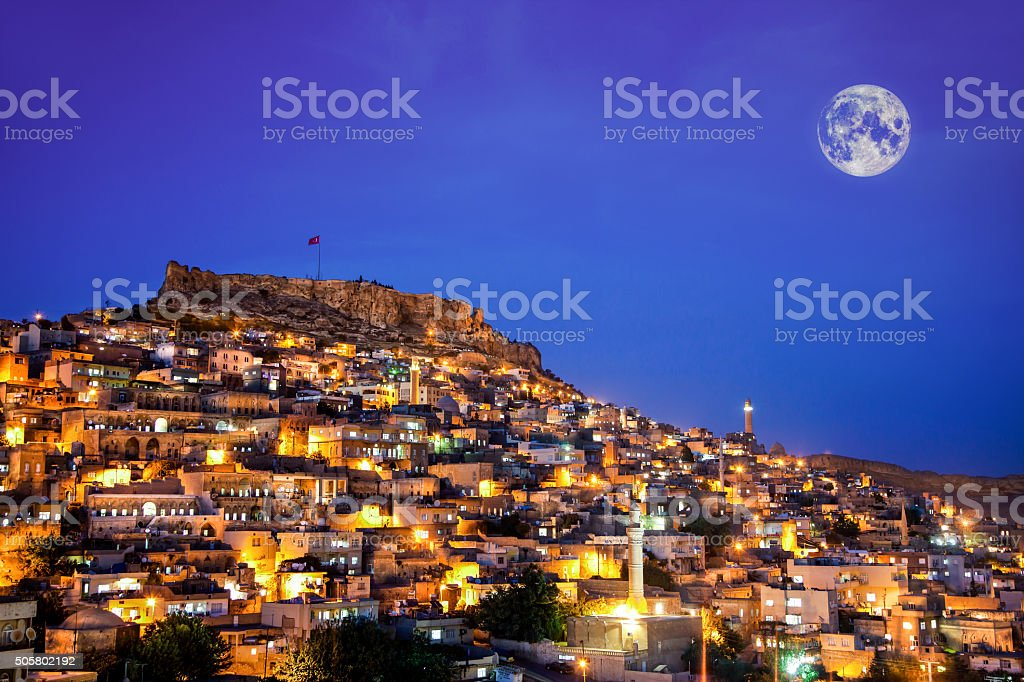 Mardin-Turkey stock photo